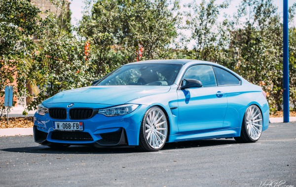 BMW M4 X Vossen Wheels